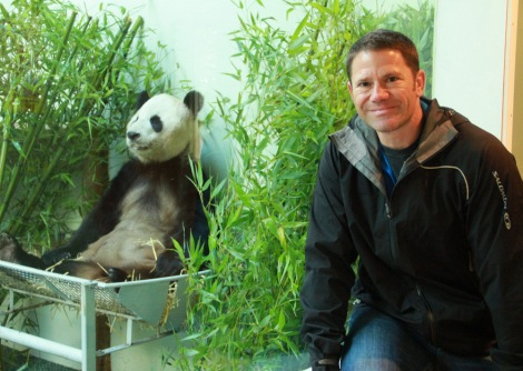 Steve Backshall Kicks off the search