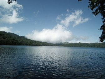 Lake Oku in Cameroon