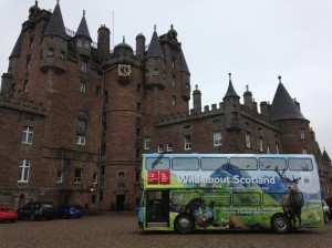 Wild about Scotland at Glamis Castle
