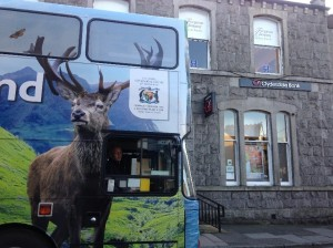 Wild about Scotland in Stranraer at the Clydesdale Bank